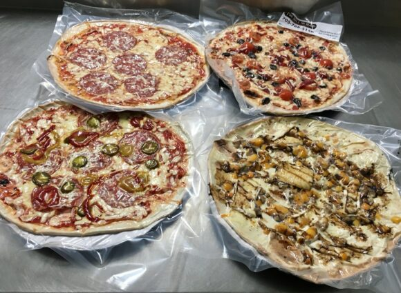 vacuum sealed pizza